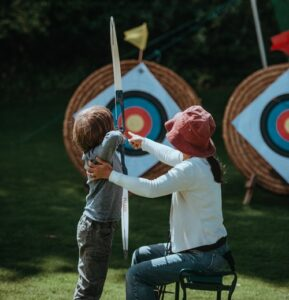 Archery safety for children