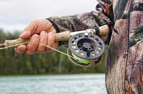 Fly fishing, fly casting.