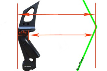 How to measurecompound bow draw length