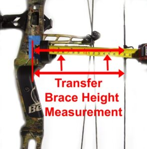 How to measure draw length of bow.