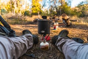 Ways to cook while camping backpacking stove