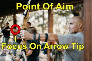 Archery aiming methods. Point of aim.