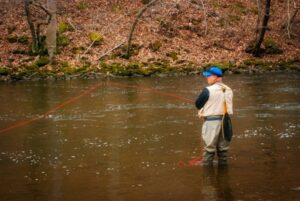 Fly fishing terms.