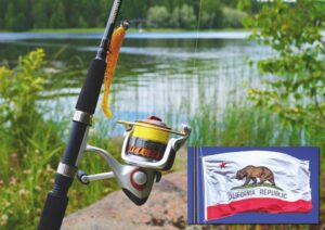How much is a fishing license in California?