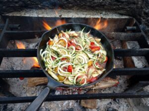 Ideas for camping meals