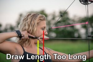 Archery correct draw length.