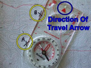 How to use a map and compass.