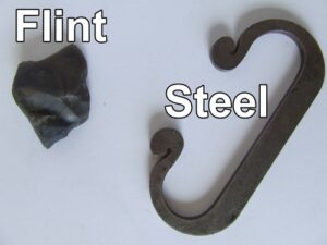 What is a flint and steel?