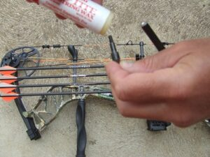 Archery tips and hacks. Bowswax on field points