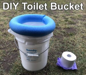 How To Make A DIY Toilet Bucket