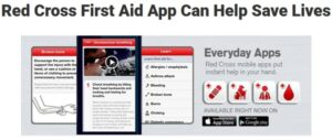 Red Cross First Aid App for hiking and camping.