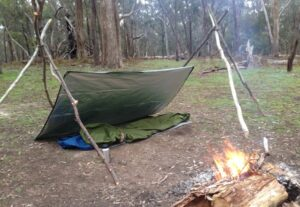 Tripod uses for bushcraft and camping.