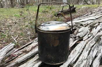 Bushcraft survival use for billy can.