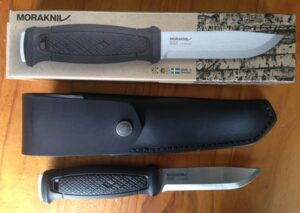 Morakniv Garberg with box and sheath.