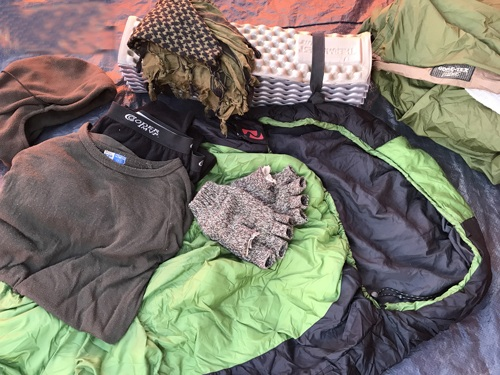 Sleeping bag camping tips