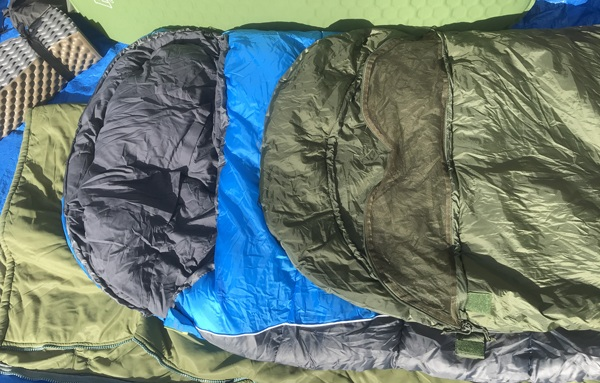 Sleeping bag camping