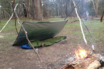 Tripod uses for camping
