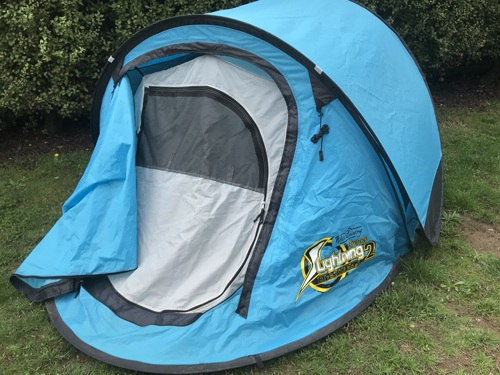 Pop up tents for camping
