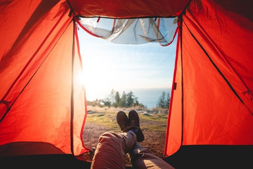 Camping tents weather conditions